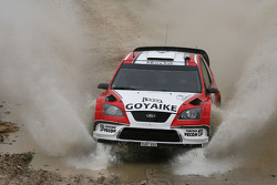 Barry Clark and Jose Diaz, Ford Focus RS WRC