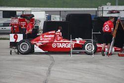 Chip Ganassi Racing crew members at work