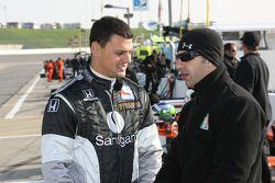 Jamie Camara and Tony Kanaan
