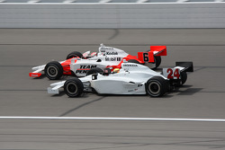 Ryan Briscoe and Jay Howard
