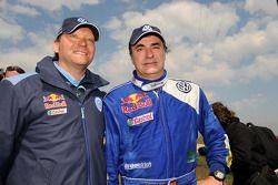 Kris Nissen et Carlos Sainz