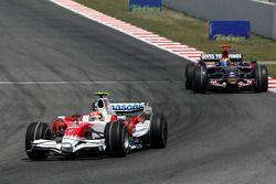 Timo Glock, Toyota F1 Team, Sebastien Bourdais, Scuderia Toro Rosso