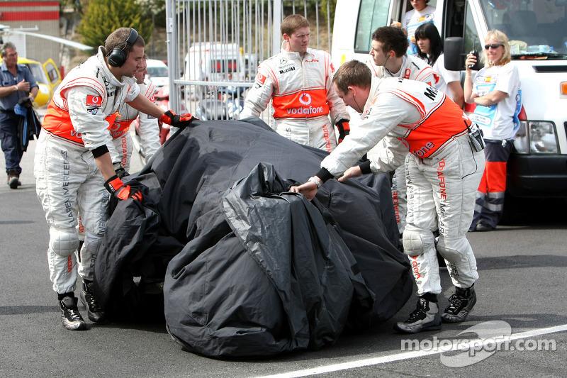 Heikki Kovalainen: Grand Prix von Spanien 2008 in Barcelona