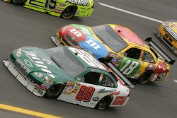 Dale Earnhardt Jr. and Kyle Busch