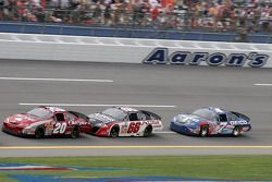 Tony Stewart, Steve Wallace and Mike Wallace