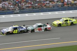 Jimmie Johnson, Dale Earnhardt Jr. and Paul Menard