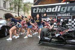 Cheerleaders performance