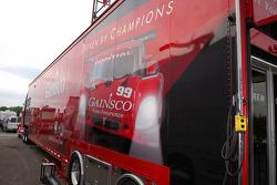 The GAINSCO Bob Stallings Racing transporter