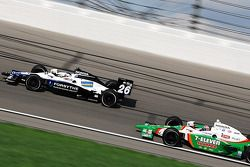 Marco Andretti and Tony Kanaan