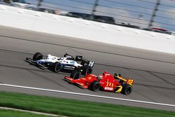 Justin Wilson and Marco Andretti
