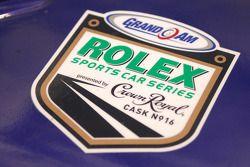 Rolex Sports Car Series emblem detail