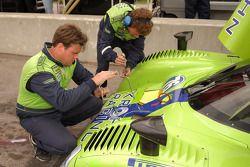 Krohn Racing technicians at work