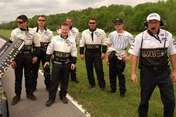 AIM Autosport team members