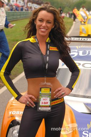 Gorgeous Pirelli girl