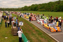 Pre race grid activity