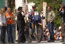 Podium: fifth place Cyril Despres