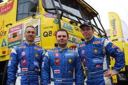 Ales Loprais, Milan Holan and Ladislav Lala