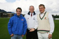 Robbie Kerr, driver of A1 Team Great Britain at the Kent Cricket ground