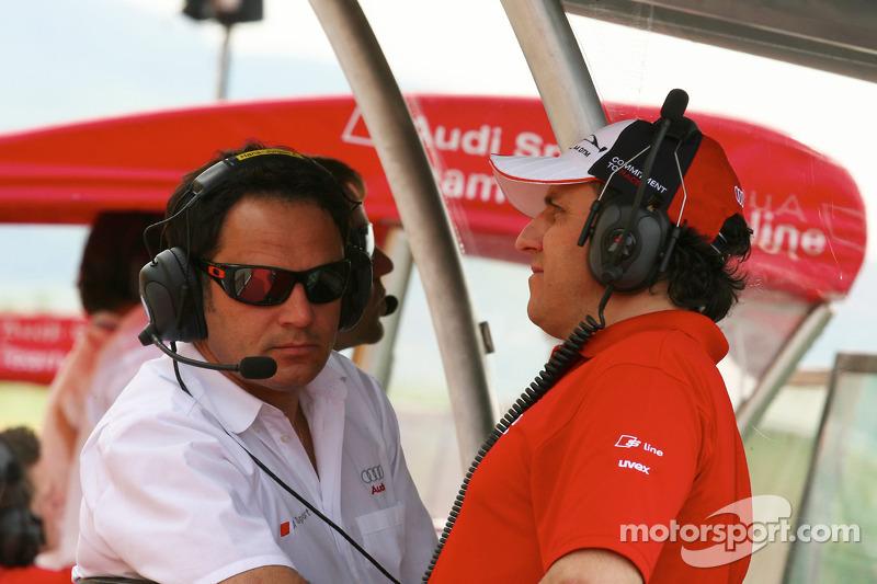 Hans-Jürgen Abt, Team principal Audi Sport Team Abt and Ex-DTM driver Christian Abt