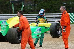 John Martin, driver of A1 Team Australia