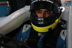 Parthiva Sureshwaren, pilote A1 Equipe d'Inde