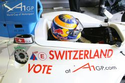 Neel Jani, pilota del team A1 Team Switzerland