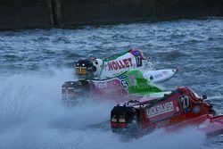 Quicksilver Boat Team : Pierre Charlot, Stéphane Lemoine, Pierre-Yves Huon, Tomasz Rosinski