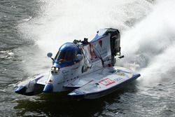 Team Caroline : Pascal Bernard, Fabrice Aimé, Alain Arreteau, Christian Del Castillo