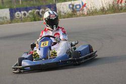 Pramac d'Antin go-kart event: Sylvain Guintoli