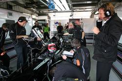 Jonny Reid, driver of A1 Team New Zealand, David Sears