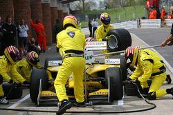Fairuz Fauzy, driver of A1 Team Malaysia pit stop