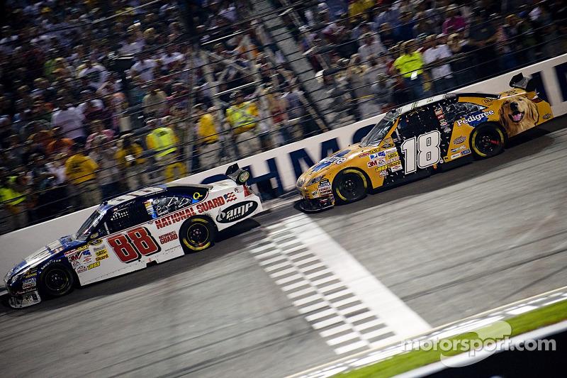 1. 2008: Earnhardt vs. Busch