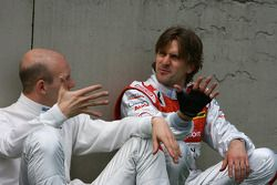 Александр Према, Audi Sport Team Phoenix, Audi A4 DTM и Маркус Винкельхок, Audi Sport Team Rosberg,