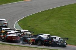Mike Rockenfeller, Audi Sport Team Rosberg, Audi A4 DTM and Martin Tomczyk, Audi Sport Team Abt Spor