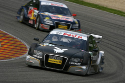 Markus Winkelhock, Audi Sport Team Rosberg, Audi A4 DTM and Mattias Ekström, Audi Sport Team Abt Sp