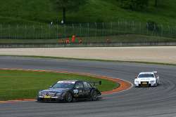 Paul di Resta, Team HWA AMG Mercedes, AMG Mercedes C-Klasse, Tom Kristensen, Audi Sport Team Abt Aud
