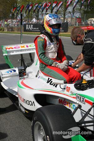 David Martinez, driver of A1 Team Mexico