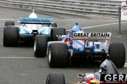 Robbie Kerr, driver of A1 Team Great Britain