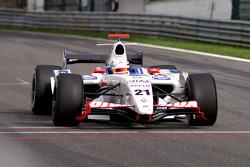 Championship leader Giedo van der Garde, P1 Motorsport