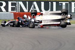 Crash of Marcos Martinez, Charles Pic and Marco Barba