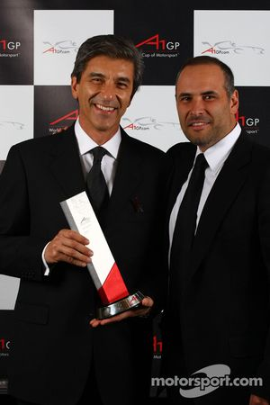 Best A1GP event of 2007/08 awarded to A1 Team Mexico
