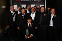 Rookie Driver of the Year awarded to Robert Wickens, A1 Team Canada