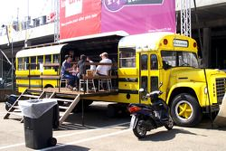 Second life for an American school-bus