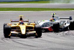 Marco Barba, Inter Drago Racing, followed by Pippa Mann, P1 Motorsport