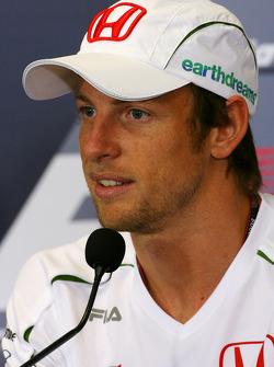 FIA press conference: Jenson Button, Honda Racing F1 Team