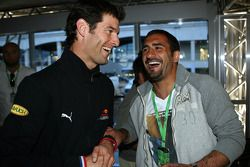 Mark Webber, Red Bull Racing and Umit Karan Galatasaray Istanbul