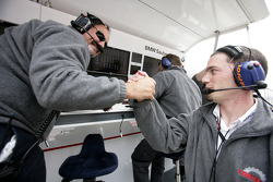Alfonso De Orleans Borbon Racing Engineering con Giorgio Pantano
