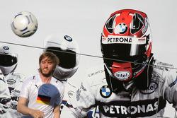 Nick Heidfeld, BMW Sauber F1 Team y Robert Kubica, BMW Sauber F1 Team