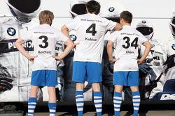 Nick Heidfeld, BMW Sauber F1 Team, Robert Kubica, BMW Sauber F1 Team, Christian Klien, piloto de pru