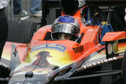Marco Andretti concentrates on qualifying
